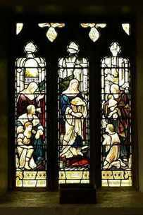 Bourton::East-window