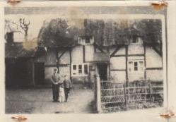 Blacksmith's Forge Bourton pre 1920
