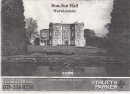 Bourton Hall Sales Particulars