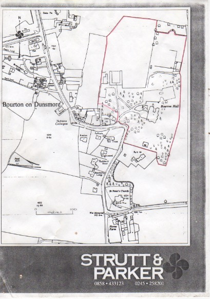 Bourton Hall sales particulars#4 – Draycote Benefice