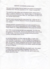 Bourton History p1