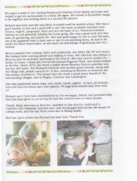 Memories of Sarah Elizabeth Gethin p2